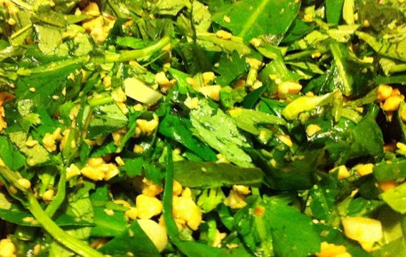 water-spinach-salad